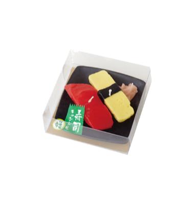 寿司キャンドル マグロ・玉子 600円